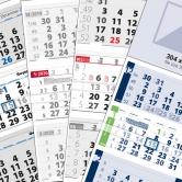 календари с 3 тела