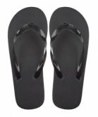 Varadero black beach slippers