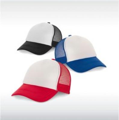 Двуцветни бейзболни шапки с мрежа