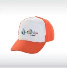 Цветни бейзболни шапки с бял лицев панел