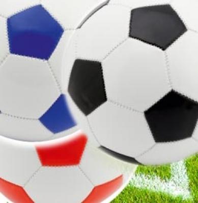 Рекламни футболни топки