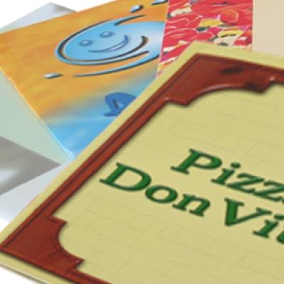 меню пицарии